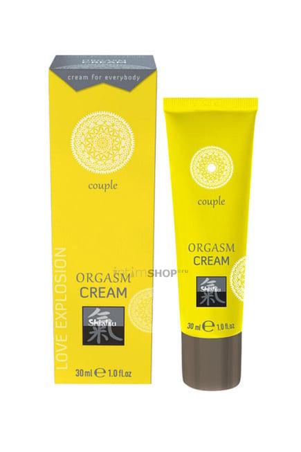 Возбуждающий крем для двоих Shiatsu Orgasm Cream, 30 мл