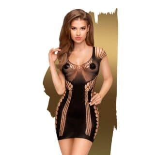 Эротическое платье Penthouse Juicy poison, черный, S-L