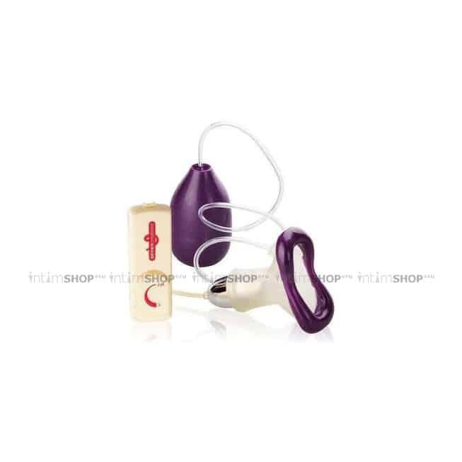 Клиторальная вакуумная помпа Clit Massager Vibrating Seven Creations