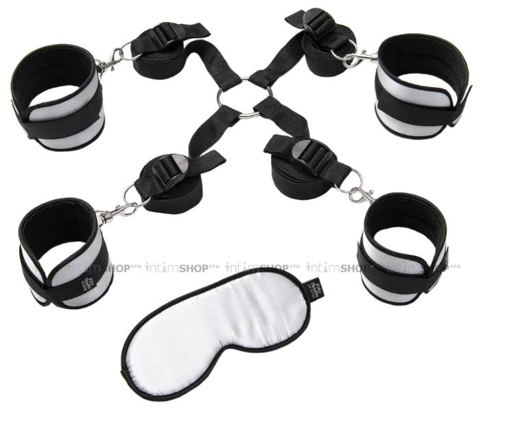 Комплект Бондажа Under The Bed Restraints Kit черный с серым