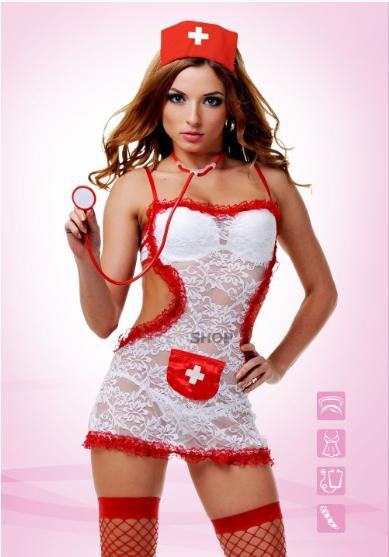 Костюм Le Frivole Соблазнительной медсестры S/M
