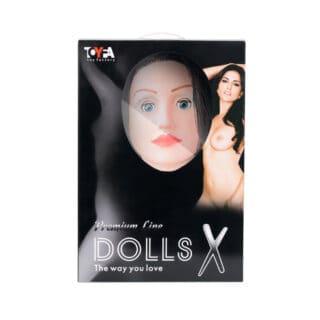 Кукла надувная с реалистичной головой ToyFa Dolls-X Premium Line