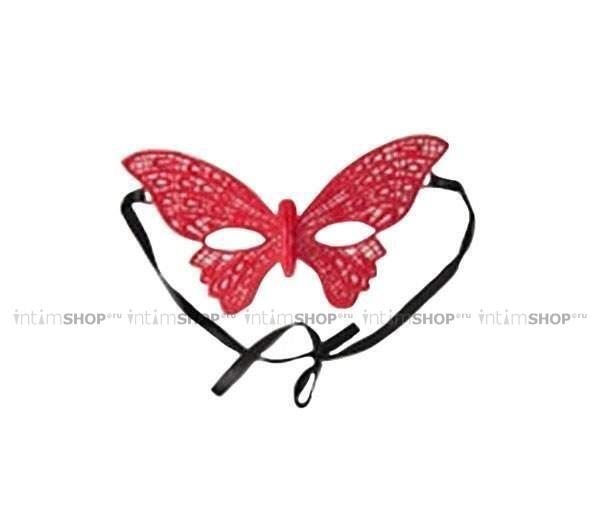 Маска 4sexdream бабочка красная