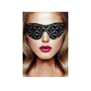Маска на глаза закрытого типа Shots Luxury Eye Mask, черный