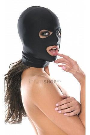 Маска на голову PipeDream Spandex 3-Hole Hood, черная
