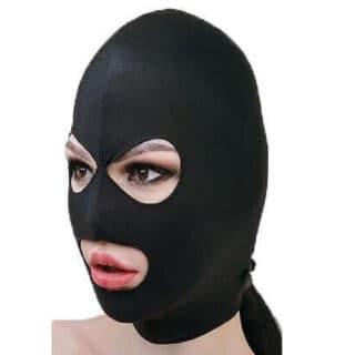 Маска-шлем МиФ с отверстиями для глаз и рта, чёрная, OS