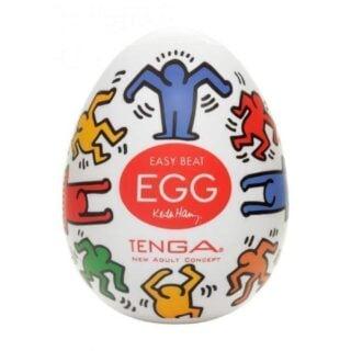 Мастурбатор Tenga Egg Keith Haring Dance