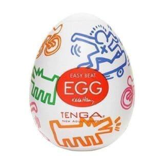 Мастурбатор Tenga Egg Keith Haring Street