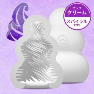 Мастурбатор с самолубрикацией MensMax Pucchi Cream, белый, 6,5 см