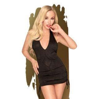 Мини-платье с трусиками Penthouse Earth Shaker черный, L/XL