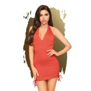 Мини-платье с трусиками Penthouse Earth Shaker красный, S/M