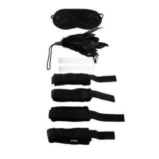 Набор для бондажа Pipedream Fetish Fantasy Series Beginner's Bondage Set, черный
