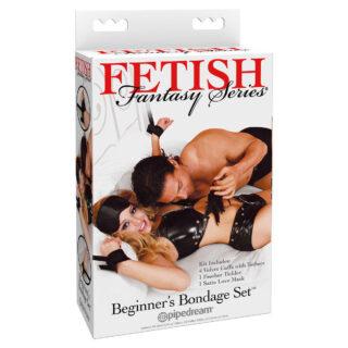 Набор для бондажа Fetish Fantasy Series Beginner's Bondage Set черный