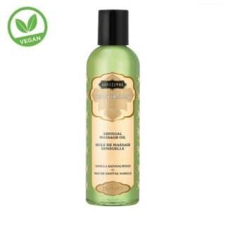 Массажное масло KamaSutra Naturals ваниль и сандаловое дерево, 59 мл