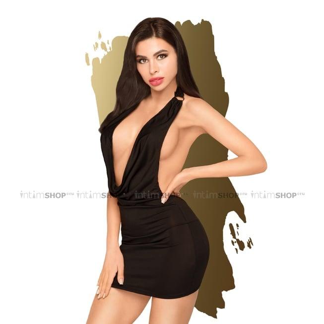 Платье с трусиками Penthouse Heart Rob черный M/L