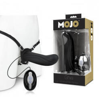Полый вибрострапон с пультом Mojo Ghia, черный
