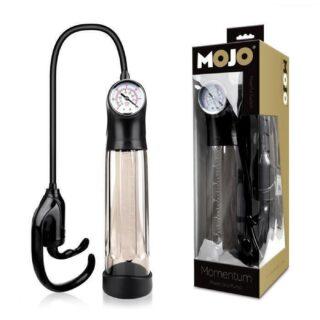 Помпа для увеличения пениса Mojo Momentum, черный