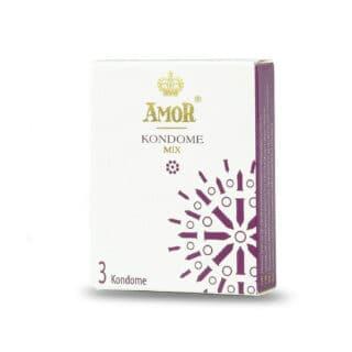 Презервативы Amor Mix, 3 шт