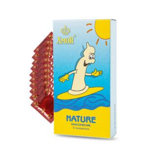 Презервативы Amor Яркая Линия Nature, классические, 10 шт