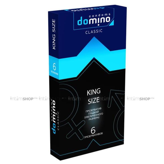 Презервативы большие Domino Classic King Size, 6 шт