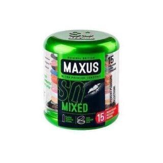 Презервативы микс-набор MAXUS Mixed №15
