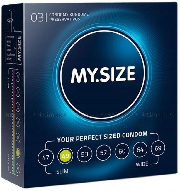 Презервативы MY.SIZE размер 49 3 шт