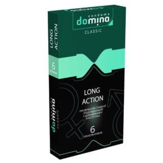 Презервативы продлевающие Domino Classic Long Action, 6 шт