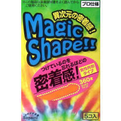 Презервативы SAGAMI XTREME №5 MAGIC SHAPE