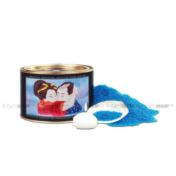 Соль для ванны Shunga Orienal Crystals Океания 600 гр в наборе 3 предмета в упаковке