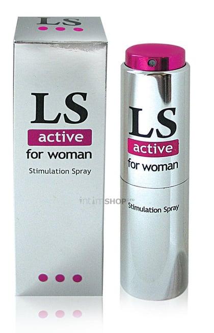 Стимулирующий спрей для женщин LoveSpray Active 18 мл