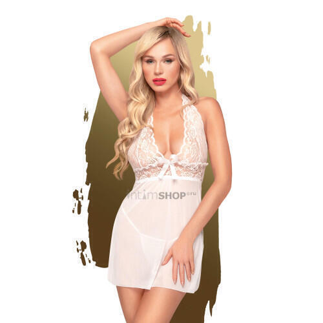 Сорочка и трусики Penthouse Sweet and Spicy, белый, L/XL