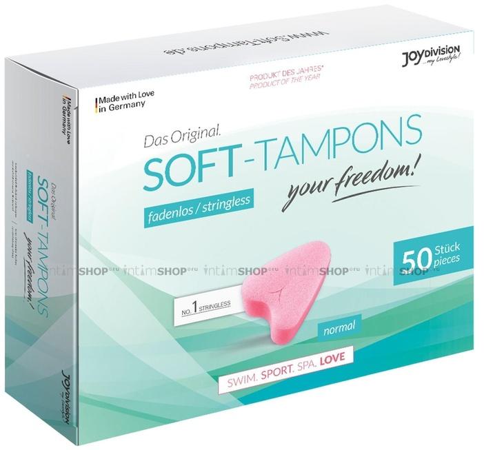Тампоны гигиенические Soft-Tampons Normal 50 шт