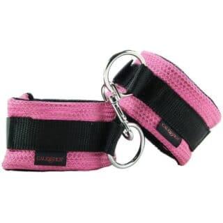 Универсальные наручники California Exotic Novelties Tickle Me Pink, розовый
