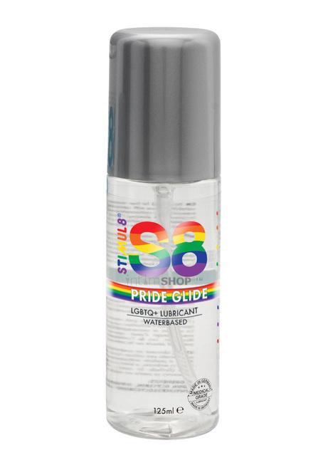 Универсальный лубрикант Stimul8 Pride Glide на водной основе, 125 мл