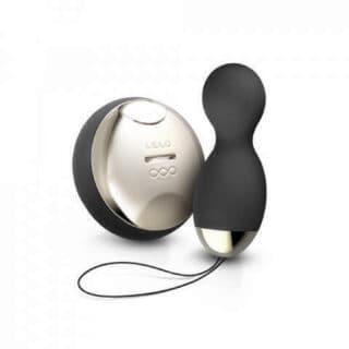 Вагинальные шарики Lelo Hula Beads Obsidian Black, чёрный