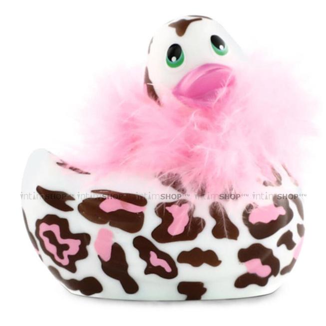 Вибратор-уточка Big Teaze Toys I Rub My Duckie 2.0, пантера