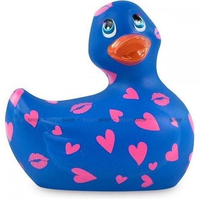 Вибратор-уточка Big Teaze Toys I Rub My Duckie 2.0, сине-фиолетовый