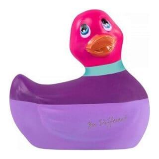 Вибратор-уточка Big Teaze Toys I Rub My Duckie 2.0, сиреневый