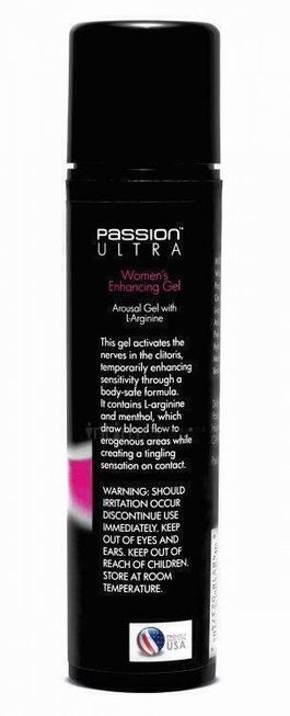 Возбуждающий женский гель Passion Arousal Gel with L-Arginine for Women, 50 мл