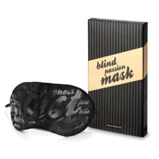 Закрытая маска Bijoux Indiscrets Blind Passion, черный